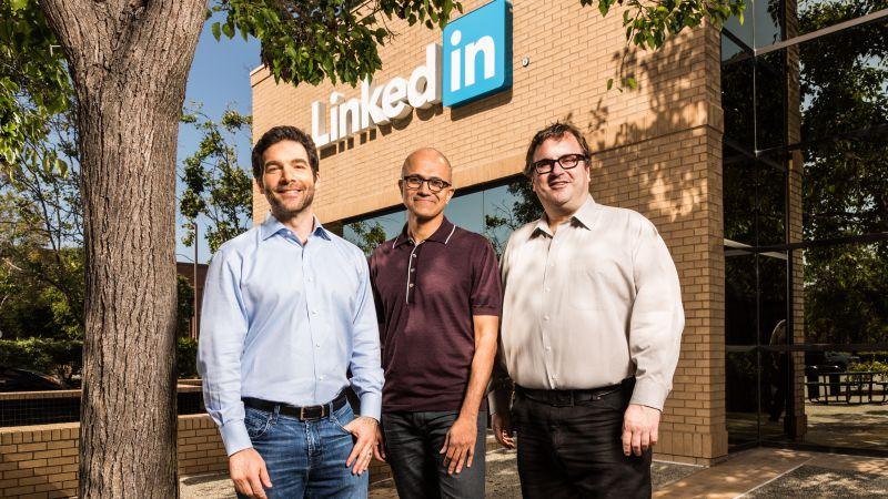 Microsoft-Akusisi-Linkedin