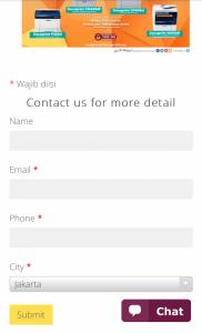NDI client Form
