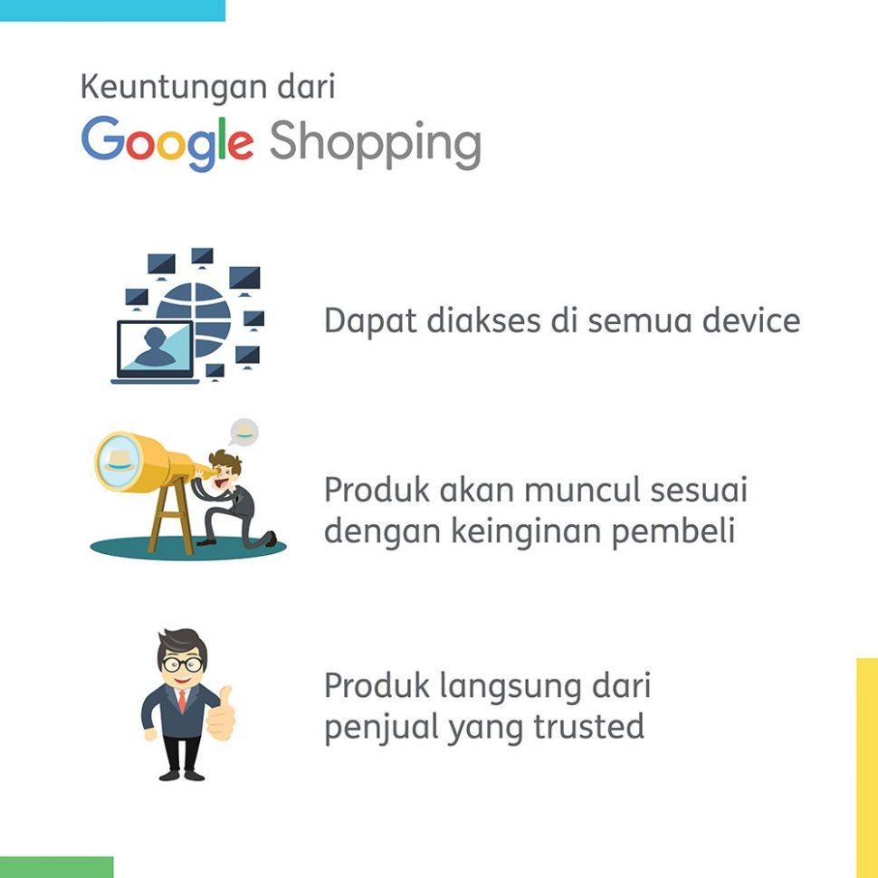 Keuntungan dari Google Shopping