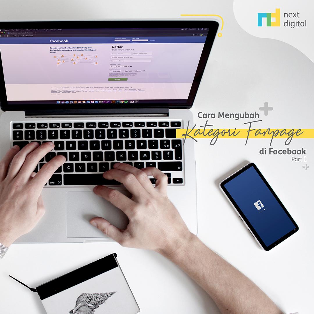 Ubah Kategori Fanpage Facebook